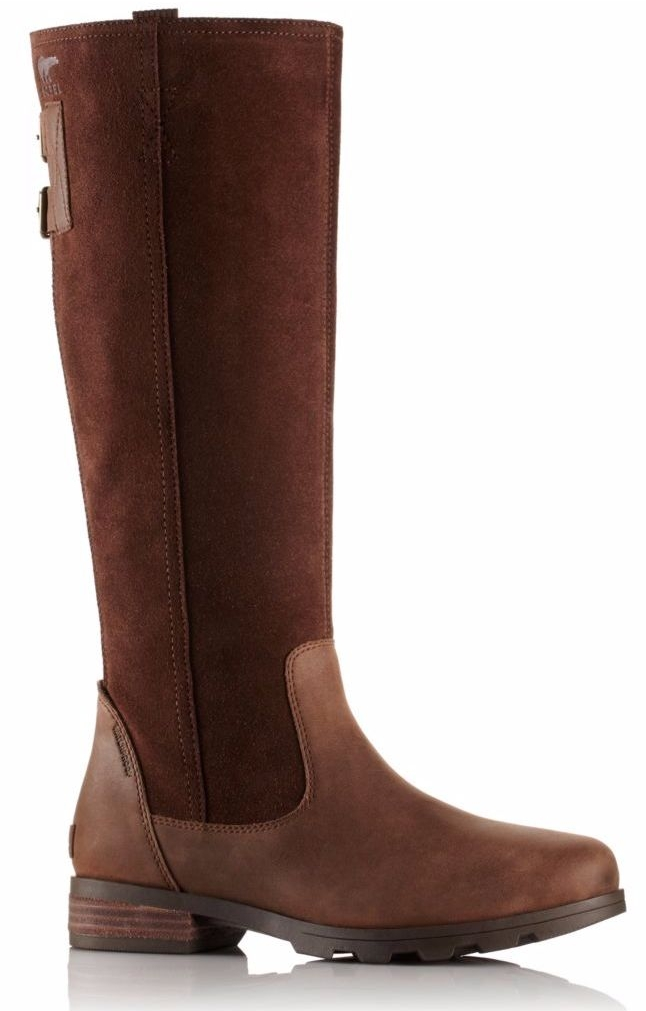 Sorel Emilie Tall Boot - Tobacco, Flax (PC: Sorel.com)