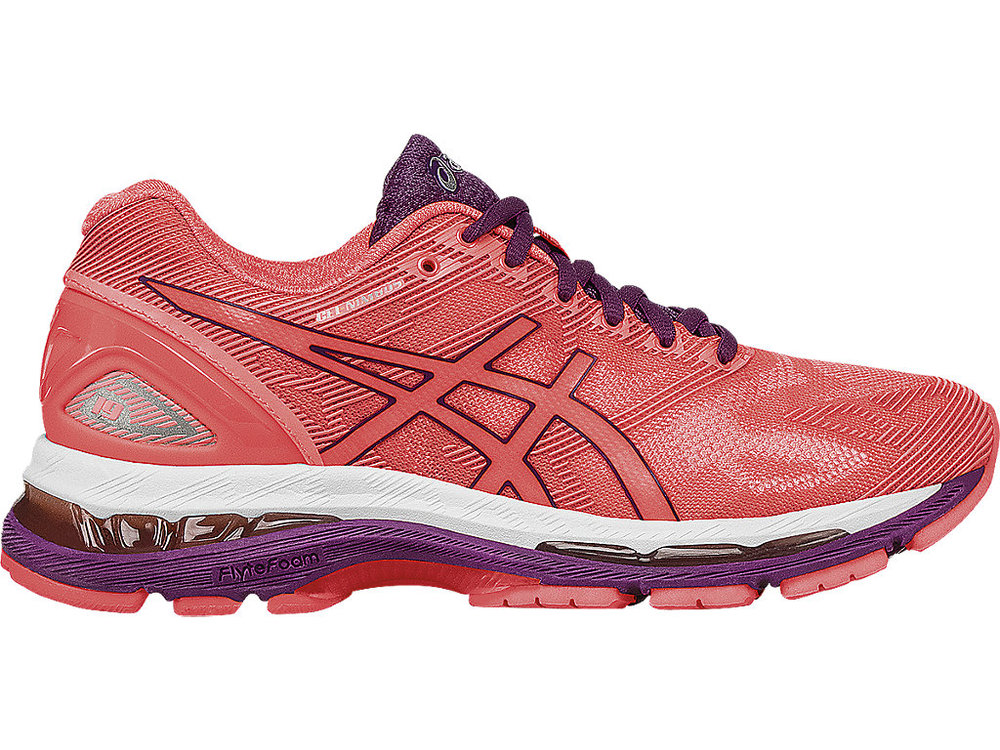 Asics Nimbus 19-Flash Coral (PC: Asics.com)