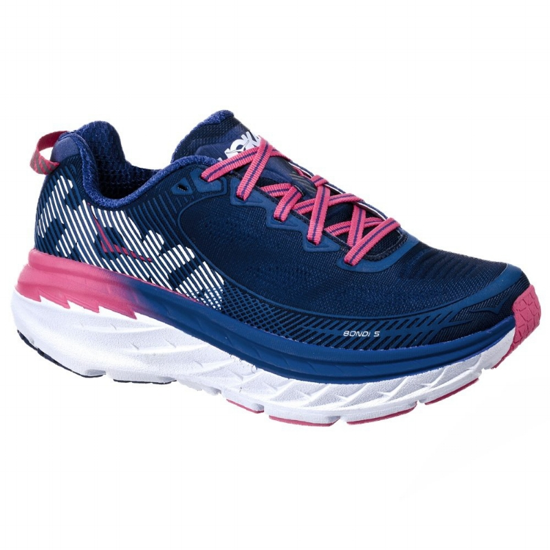 Hoka One One Bondi 5 Running Shoe - Sky Blue (PC: Runappeal.com)