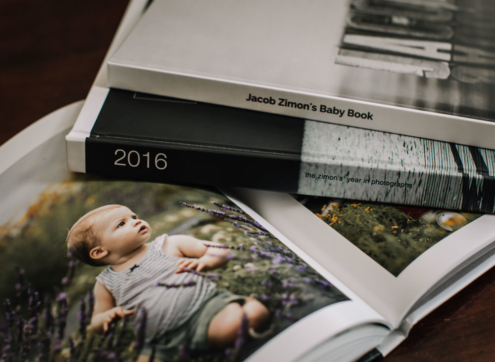 Northern Virginia Photographer Family Photo Book