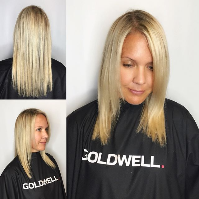 Fun and fabulous extension job. #hairenvy #hairinspo #cinderellahairextensions #cinderella #blondebombshell #dimensionalblonde #bombshellsociety #olaplex #goldwell #goldwellapprovedus #behindthechair #instahair #haircolor #haircolour #hairdye #hairenvy #hairmagic#bellabellaexclusivehairsalon #bellabella #bookwithus #hairbrained #mondernsalon #mondernsalonmagazine #btcpics #americansalon