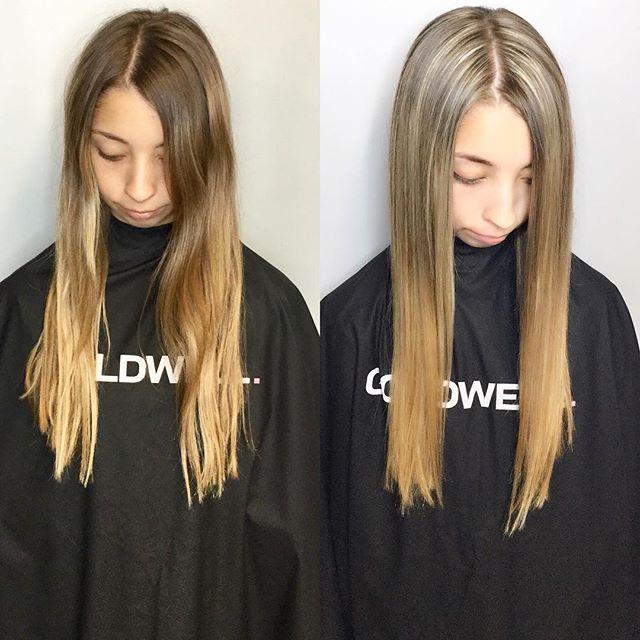 When that base breaks 😍🙌 #basebreak #blondes #blonding #highlights #heavyfoil #dimensionalblonde #contrast #hairinspo #hairofinstagram #olaplex #goldwell #goldwellapprovedus #behindthechair #instahair #haircolor #haircolour #hairdye #hairenvy #hairmagic#bellabellaexclusivehairsalon #bellabella #bookwithus #hairbrained #mondernsalon #mondernsalonmagazine #btcpics #americansalon