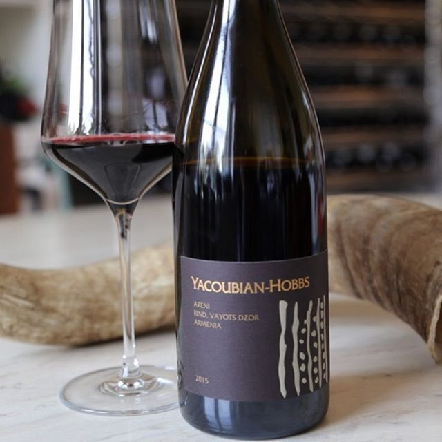 "Yacoubian-Hobbs Areni 2015 is now among the 'Wines to Know' on Karen MacNeil's WineSpeed - ""... plush with a black peppery spicy was and delicious black cherry flavors..."" Thank you KM for the lovely review (link in bio). 📷: @karenmacneilco. #winestoknow #winespeed #karenmacneil #historyandwine"