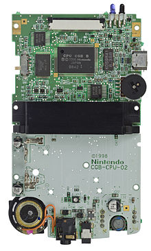 Game Boy Color motherboard. I see the LR35902!
