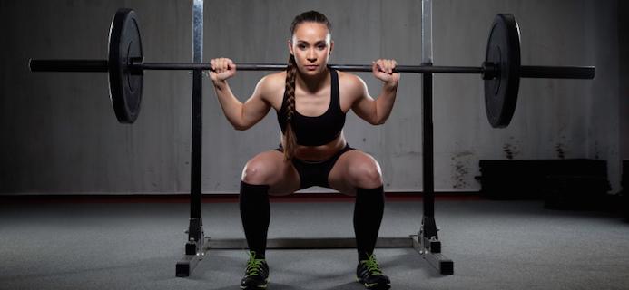 Squat giúp làn da mịn màng và tươi trẻ hơn