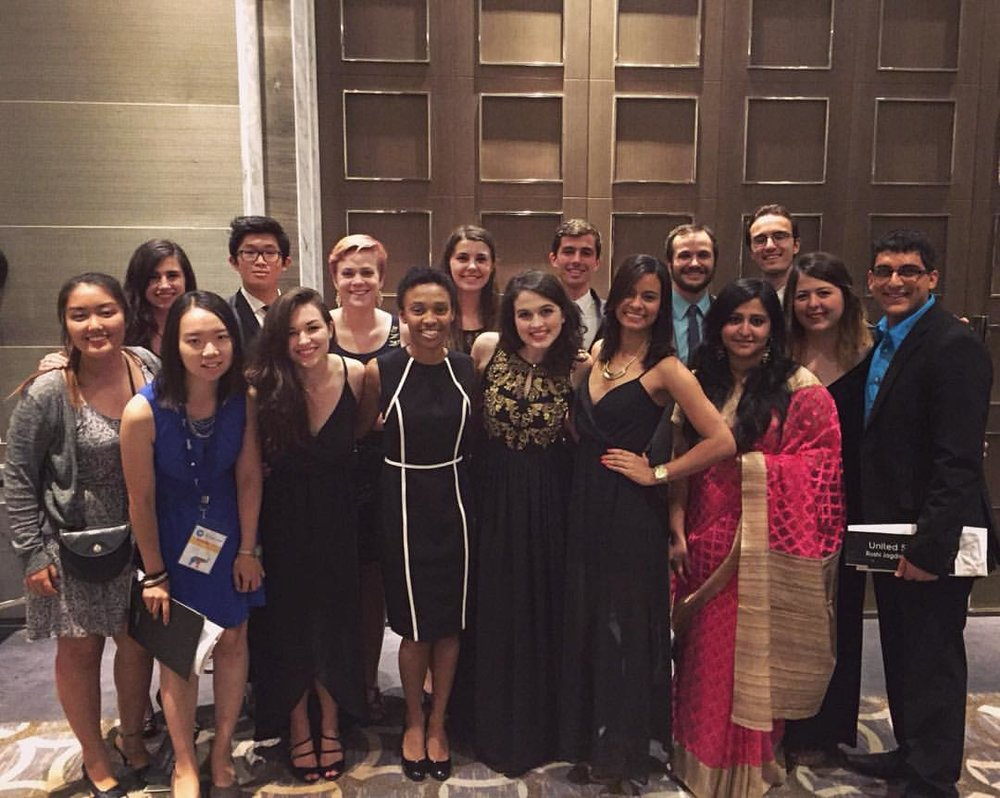 In 2015,Attila Yaman represented AIESEC Yale and US in the International Congress in India.