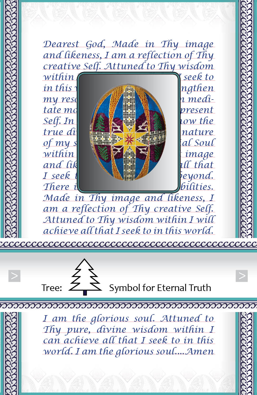 Affirmation for Eternal Truth