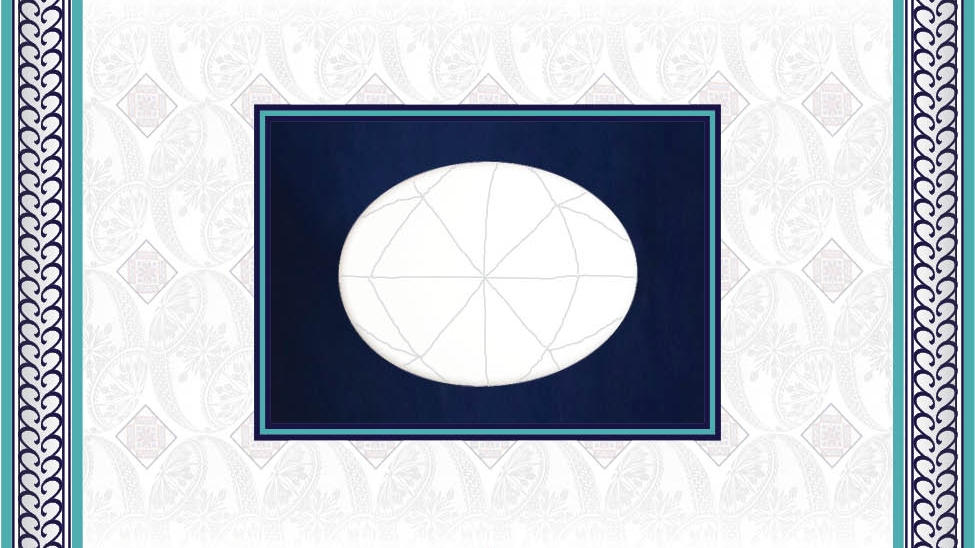 - It begins with a clean, white egg. Pencil guidelines help achieve the symmetrical balance pysanky is known for.