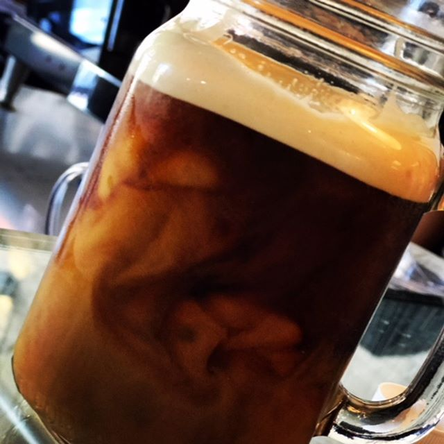 You know it's going to be a good day when it starts with nitro infused cold brew. #Swork_Coffee #Eagle Rock #Barista #GreatCoffee #Coffee #espresso #organicmilk #LaColombe #Latteart #ColdBrew
