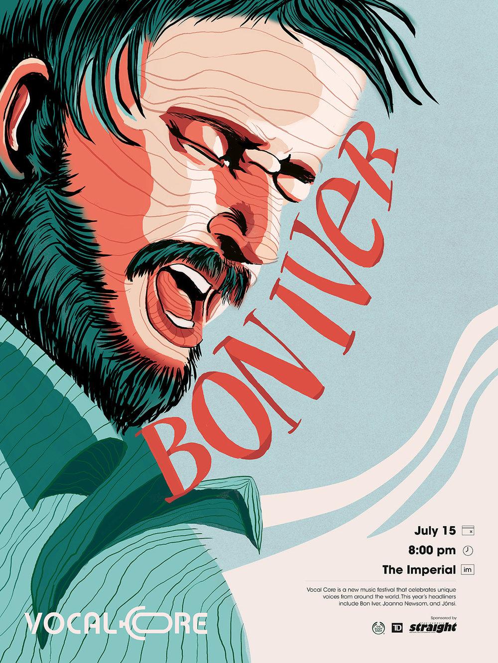 Vocal-Core-Music-Festival-Bon-Iver-Poster-illustration-and-design-by-Fiona-Dunnett.jpg