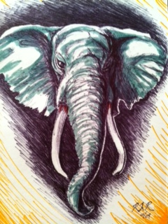 elephant by Robert.JPG