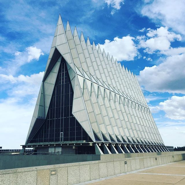 Chapel at the Air Force Academy in #coloradosprings #colorado #travel #travelphotography #photography #wanderlust #spring #travelplanner