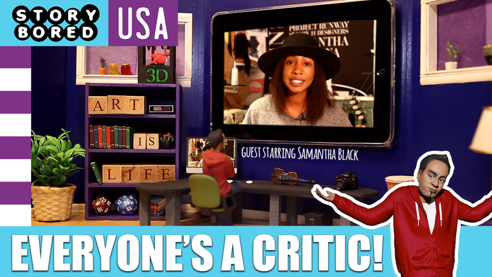 COMING SOON  Click here to see Samantha's appearance in StoryBored USA!