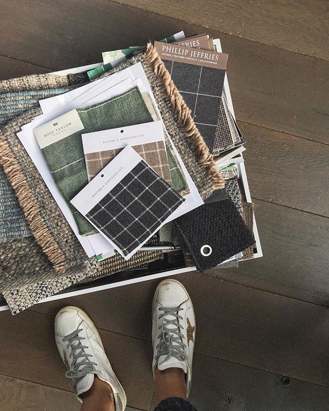 my version of a briefcase. or everlasting christmas. . . . . . . . #designplan #theaftermath #inthemaking #sitevisit #presentation #designpresentation #designmeeting #design #decor #designer #designerlife #textiles #materials #conceptboard #designinspo #interiorinspo #interiors #custom #wallcovering #materialspalette #palette #homedesign #nycdesigner #nycdesign #moodboard #fabrics #floorcovering #studioseva #sseva