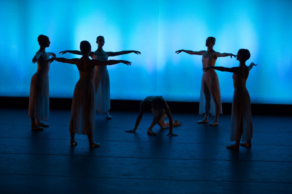 Rounding the Apse  choreographed by Laura Goodman on the Minnesota Ballet. Photo credit: Jeff Frey