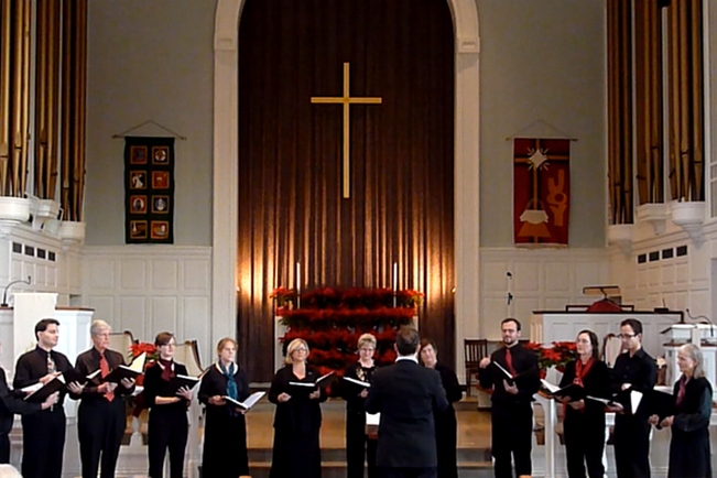 "New Haven Oratorio Choir performing ""Grace"""