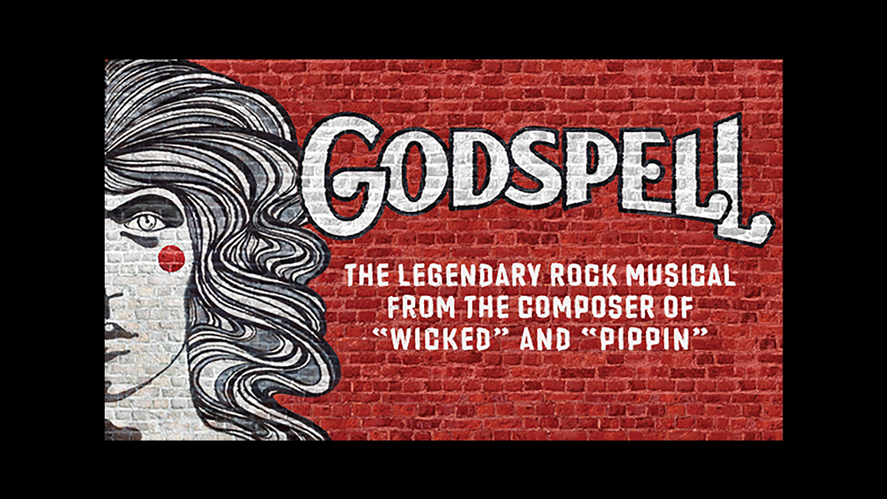 "March 29-31, April 6-8 - Based on the Gospel according to Matthew, Godspell is the first musical theatre offering from composer Stephen Schwartz who went on to write such well-known hits as Wicked, Pippin, and Children of Eden. The show features a comedic troupe of eccentric players who team up with Jesus to teach his lessons in a new age through parables, games, and tomfoolery.Godspell also features the international hit, ""Day by Day"", as well as an eclectic blend of songs ranging from pop to vaudeville, as Jesus' life is played out onstage. Even after the haunting crucifixion, Jesus' message of kindness, tolerance and love lives vibrantly on."