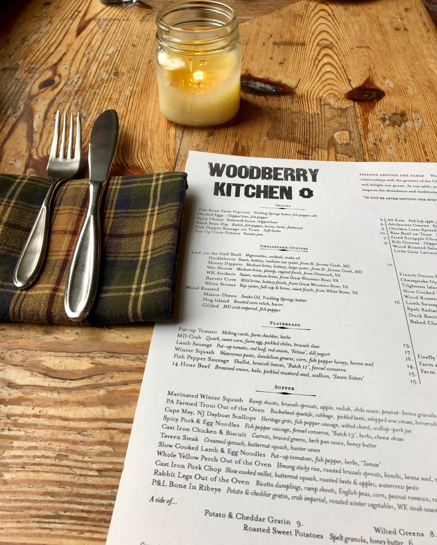 Restaurant Review Woodberry Kitchen Baltimore Courtney S Counter