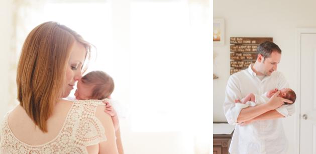 Lifestyle Newborn Photographer Huntsville, AL 2