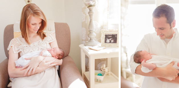Lifestyle Newborn Photographer Huntsville, AL