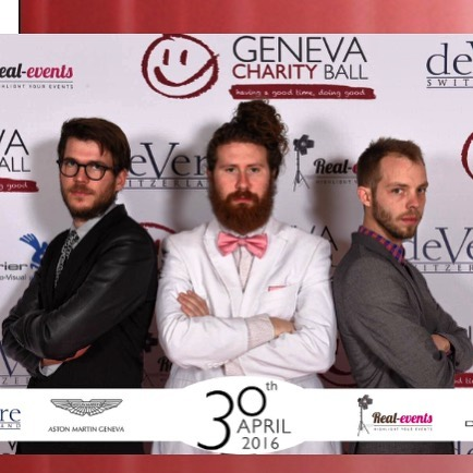 Post Concert at the Geneva charity ball on the Casey Abrams tour 2016. Geneva, Switzerland.