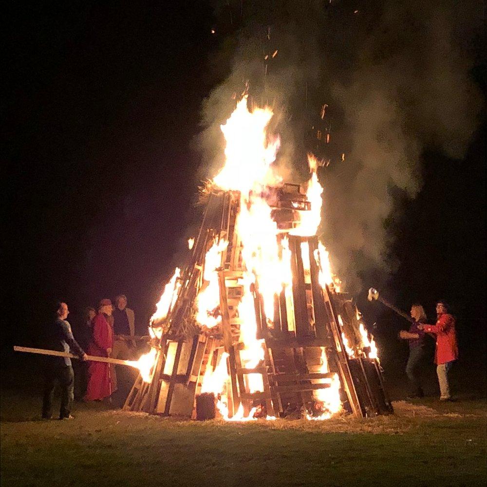 Annual Harvest Bonfire