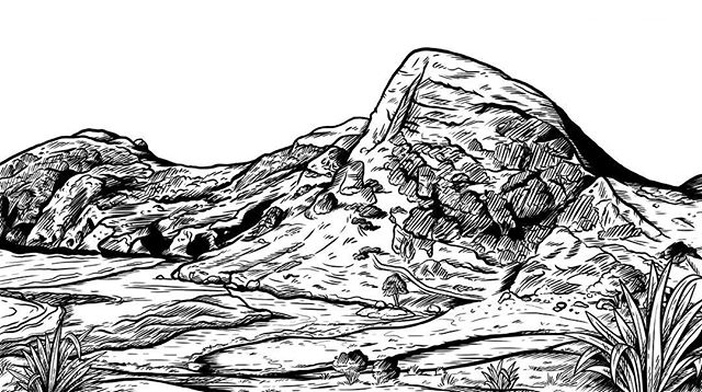 A landscape drawing of Kapowairua (Spirits Bay) to grace the cover of a book being written right now by a friend for the European Union. Have a taste of Aotearoa, Europe!  Summer vibes in the Far North are so damn strong right now, I can't draw anything but summery things!  This campsite and beach is magical, totally recommend a visit, but not in the tourist season as I hear it gets bananas busy. The bluff over the ocean is just epic, and the fishing is apparently great, but we just caught a shark (we let them go!) —————————— #pepperraccoon #kapowairua #spiritsbay #nzlandscape #nzlandscapes #farnorthnz #capereinga #nzart #nzartist #nzillustrator #bookcoverart #beachvibes #adventuresinnature #nzmustdo #travelnz #capturenz #nztourism #purenz #dreamalittledream #nzimagery #nztravel #bestplaceintheworld #landscape_love #seascape #seascapes #secretspot #secretspots