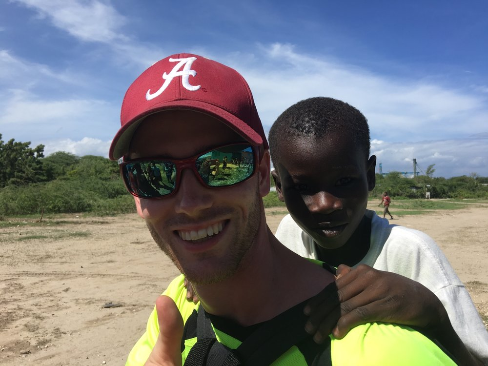 Josh S. - Haiti has definitely changed my life and I am so glad that I listen to God to go on this trip. I came back a changed person and a different heart. I just completely fell in love with Haiti and all the people and also enjoyed and loved the A.C.T.S team that I was able to share the experience with.