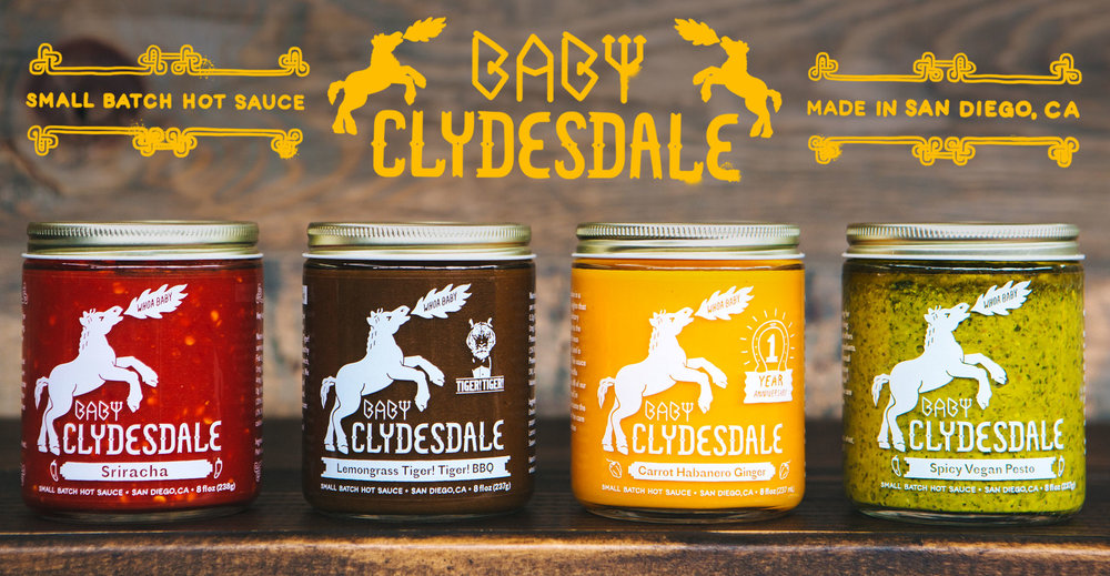 Baby Clydesdale branding and packaging by Joe Rufa
