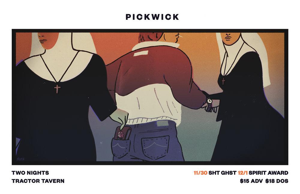 Pickwick Nun Pickpocekts Flyer