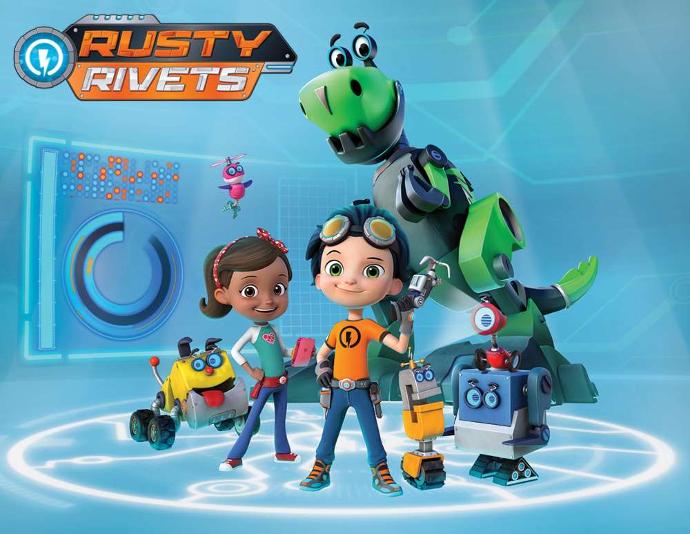 Rusty Rivets - Nickalodeon Jr