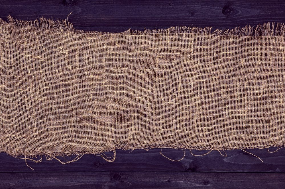 100% jute burlap, sealed to be weather and fade resistant    SHOP NOW