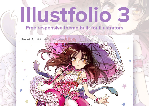 Illustfolio 3 - 簡単にクオリティの高いポートフォリオができる。