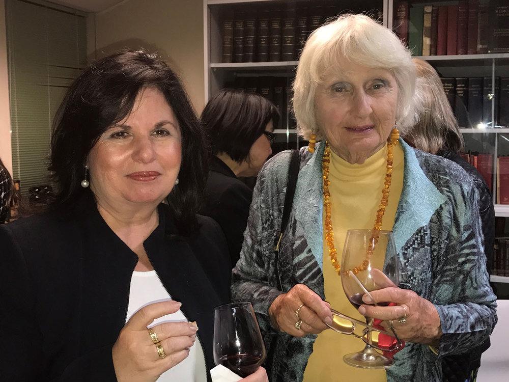 Anna Gelavis and Barbara Kent.jpg