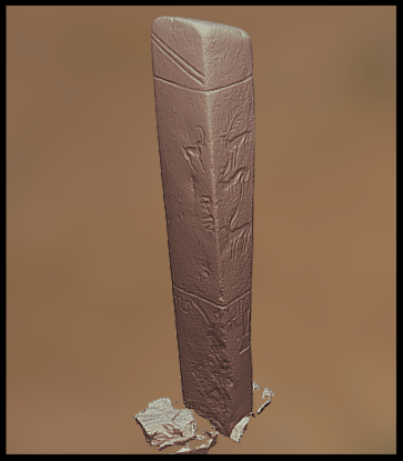 Nicholas Case uses 3D Modeling to capture Deerstones in Sketchfab -