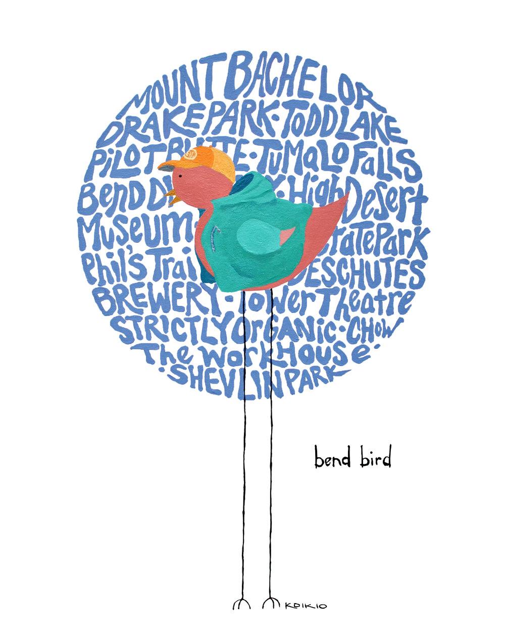 Bend Bird  // $28+