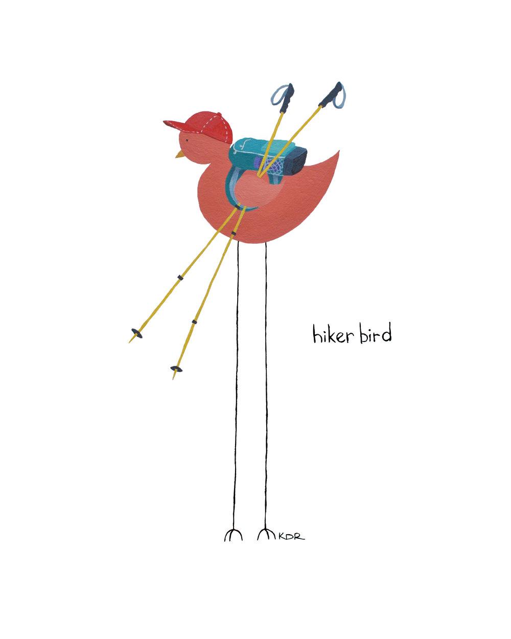Climber Bird  // $28+