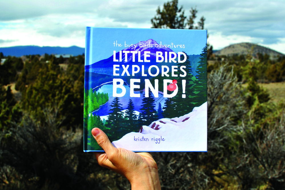 Cascade A&E - A summary written about Little Bird Explores Bend, who it's perfect for, and little about me, the author and illustrator! (2018)