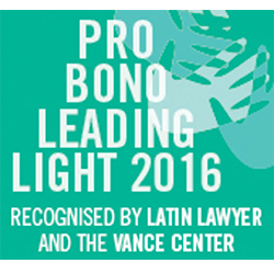 Pro Bono Leading Light 2016, 2016