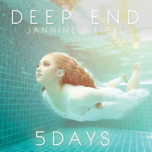 the song I co-wrote with friends a few years back got released today, thanks @jannineweigel for blessing it with your vocals. Go check it out in her bio! - #losangeles #lovemyjob #song #deepend #jannineweigel #music #new #songwriter #engineer #recording