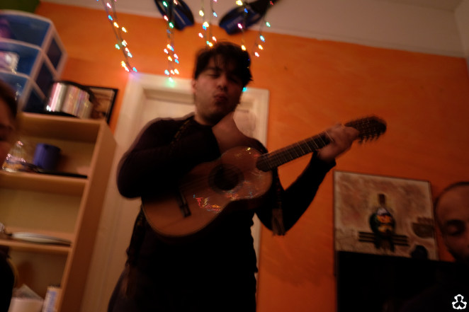 How awesome? This guy's an ex UN employee, is part of a awesome musical group (Villalobos brothers), annnnd he moved to Mexico basically 2 weeks after I was there.