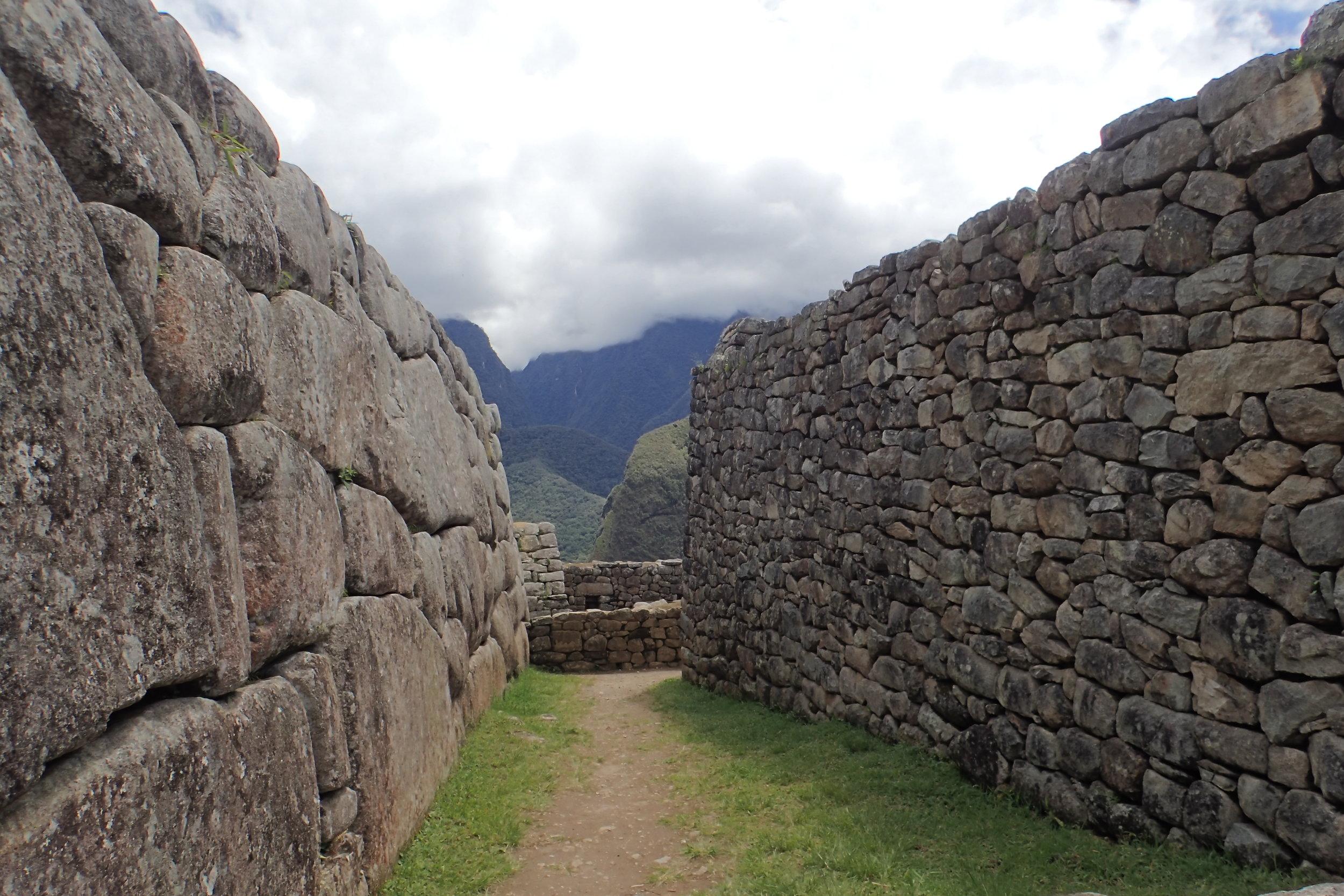 Pretty elaborate walls