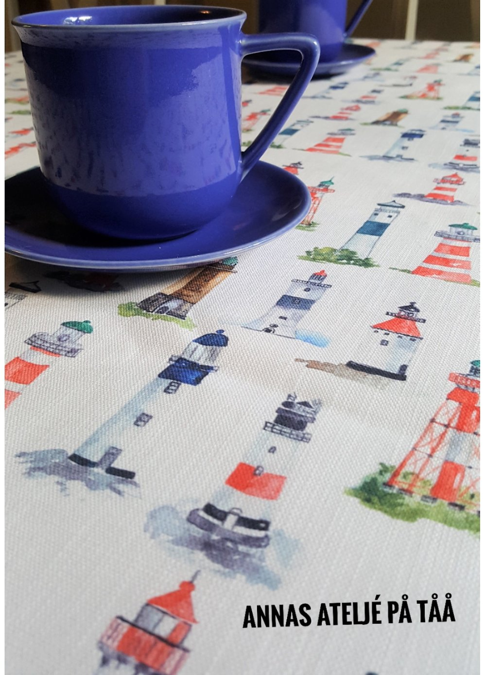 Textile Swedish Lighthouses