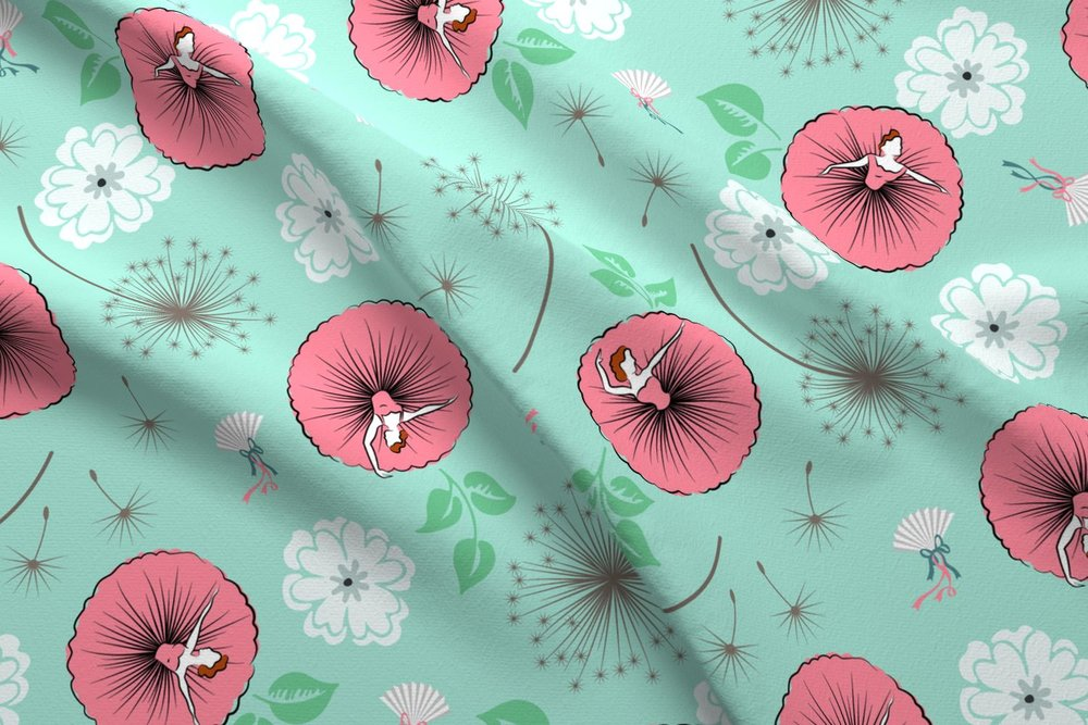 Fabric Designs - Did you know I also design fabric?Custom colourways available.