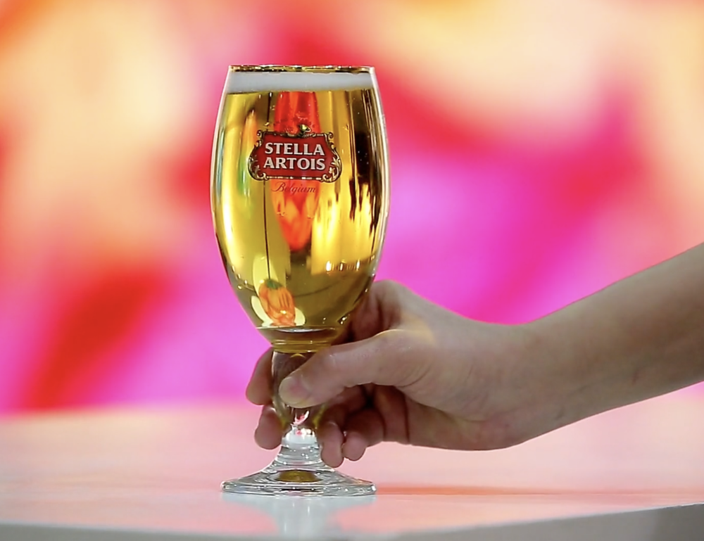 We love working with Stella - they are such a delicious drink and epic people to work for. Working with them at the LA Art Show was a terrific highlight. They are not just a drink but a brand that gives back to art and the community.