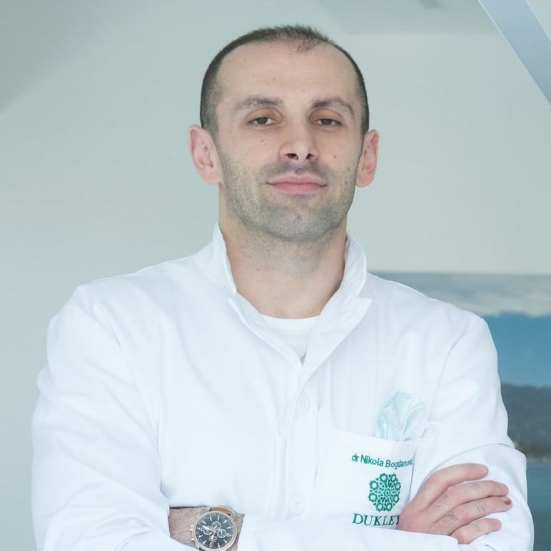 Dr. Nikola Bogdanovic - Graduated in 2012 from the Dental School of University of Banja Luka. He is regularly attending professional lectures and conferences for the purpose of continuous training and education in an endeavor to je provide the highest quality of services to his patients.