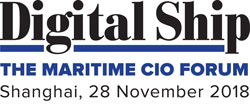 Digital Ship The Maritime CIO Forum Shanghai, 28 November 2018