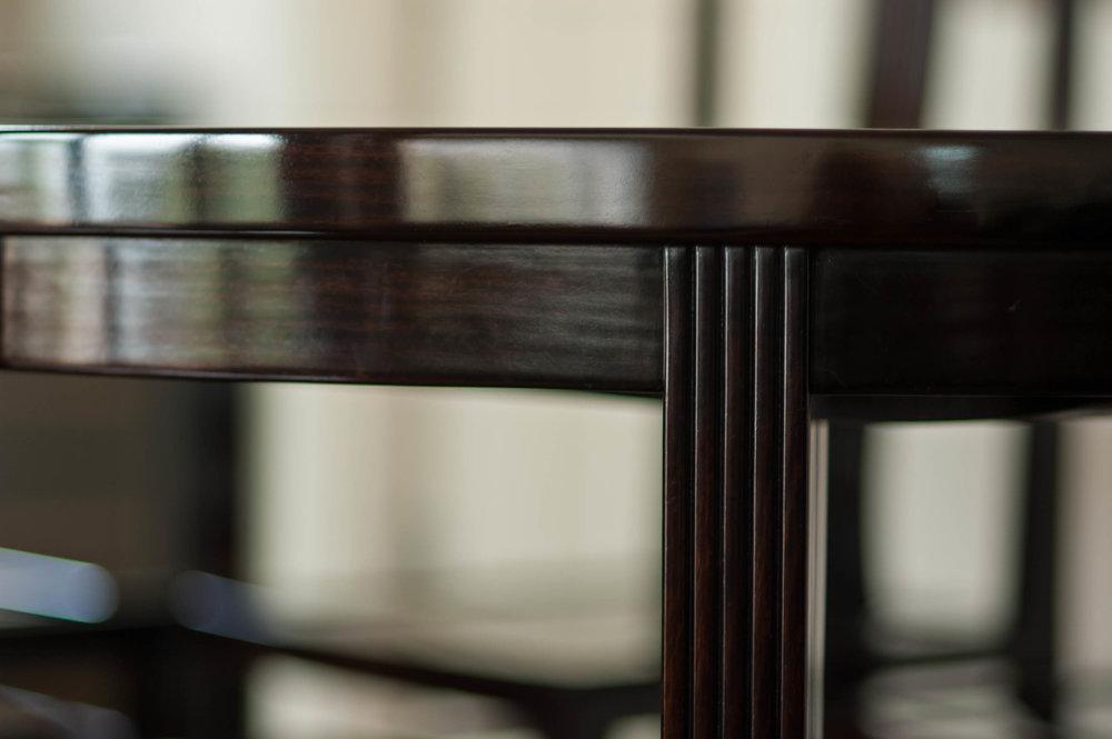 ....art deco furniture : dining table set ..艺术装饰风格家具 : 餐台椅套装....