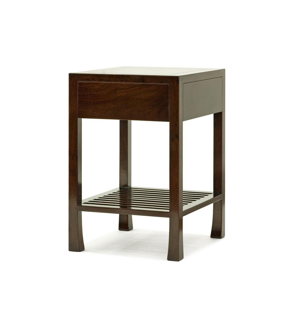 ....bespoke modern chinese furniture : bedside table..特别定制现代中式家具 : 床头台....