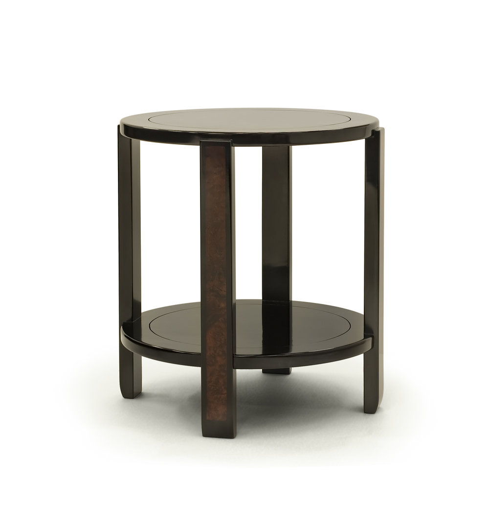 ....modern chinese furniture : side table ..摩登中式家具 : 圆台....